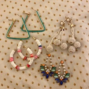 🌟 LOT OF STATEMENT EARRINGS 🌟